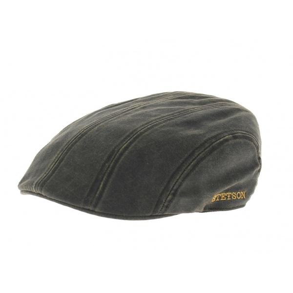 Rayon casquettes Traclet : une belle casquette Stetson aspect cuir vieilli