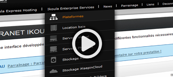 Hébergé sur un serveur virtuel ou dédié, vous pouvez bénéficier d'un Extranet sécurisé