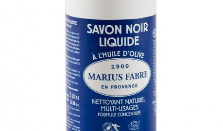 Savon noir liquide à l'huile d'olive Marius Fabre !
